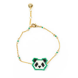 Bracelet Panda grün ( im Moment out of stock)