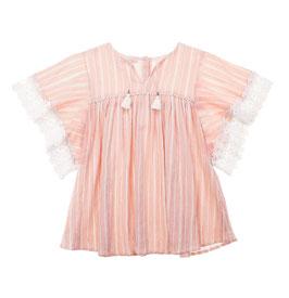 Dress Sterlizia blush stripes