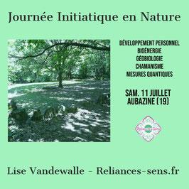 Journée initiatique en nature (acompte de réservation)