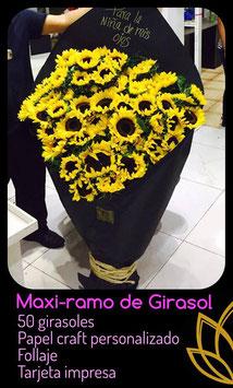 MAXI RAMO GIRASOLES