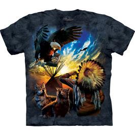 Indianer Eagle Prayer