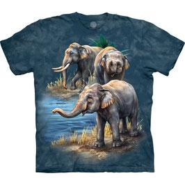 Elefant 3 Blue