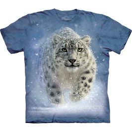 Snow Leopard blue