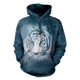 Toughtful White Tiger