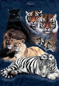 Wild Cats Darkblue