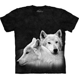 2 White Wolves