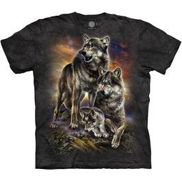 Wolf Family Sunrise