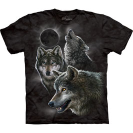 Three Wolf Black