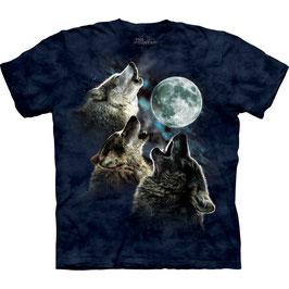 Wolf 3 Moon Blue