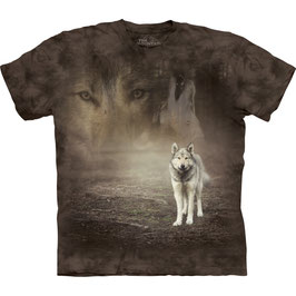 White Wolf in brown