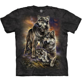 Wolf Family Brown