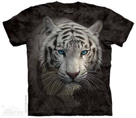 White Tiger Head Blue Eyes