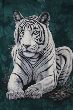 White Tiger Big on green