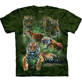 Tigers jungle green