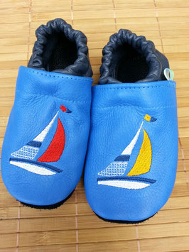 Footies mit Segelboot
