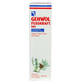 FUSSKRAFT ROT für trockene spröde Haut - GEWOHL