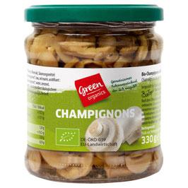 GREEN ORGANICS - Champignons in Scheiben 330 g