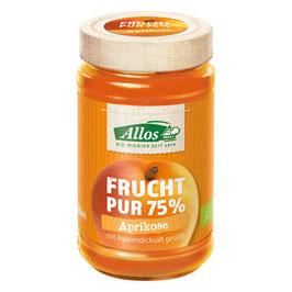 Allos -  Fruchtaufstrich 75% Aprikose 250 g
