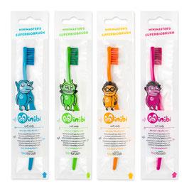 biobrush Minibi - Biologisch abbaubare Zahnbürste für kinder
