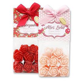 """Schafmilchseife Rose """"Florex"""" mini 14x7g"""