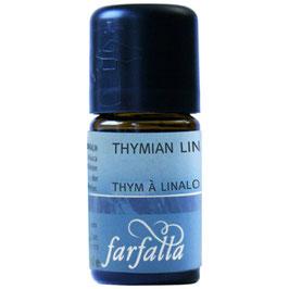 Thymian Linalol 5 ml -  FARFALLA ÄTHERISCHE ÖLE