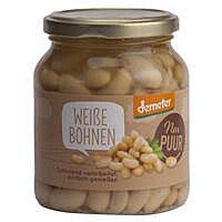 Weiße Bohnen 350 g - NUR PUUR