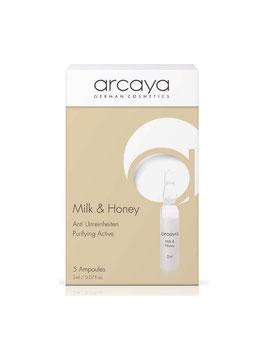 ARCAYA - Milk & Honey -  Ampulle Gesicht