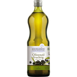 BIO PLANETE - Olivenöl fruchtig, nativ extra 1 l