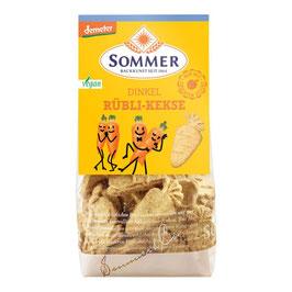 Sommer - Dinkel Rübli Kekse o. Zuckerz. 150 g