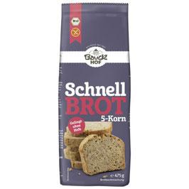 Schnellbrot 5 Korn 475 g - BAUCKHOF