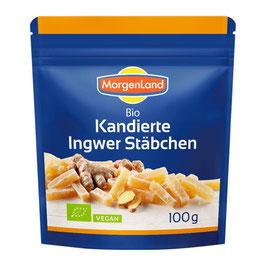 Morgenland - Ingwerstäbchen kandiert 100 g
