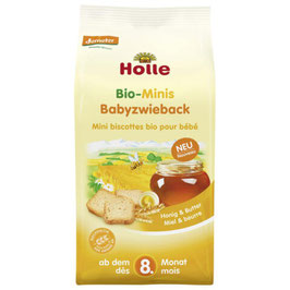 Minis Baby Zwieback 100 g - HOLLE