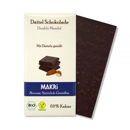 Makri Dunkle Mandel 68% Kakao