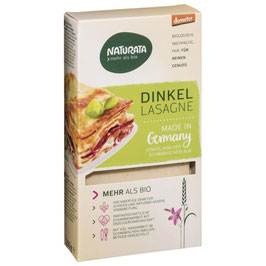 Dinkel Lasagne hell 250 g - NATURATA