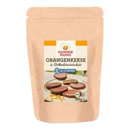 HAMMERMÜHLE - Vollmilchschoko. Orangenkeks 150 g