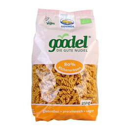 GOODEL - Kichererbse Spirelli 250 g