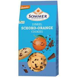 Sommer - Dinkel Cookies Schoko&Orange 150 g