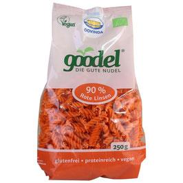 GOODEL - Rote Linsen Spiralen 250 g