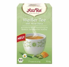 Yogi Tea Weißer Tee mit Aloe Vera Bio, 17St