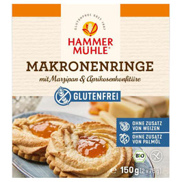 HAMMERMÜHLE - Makronenringe mit Marzipan glf 150 g