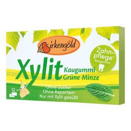 Xylit Kaugummi Grüne Minze 12 Stk