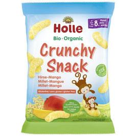Crunchy Snack Hirse-Mango 25 g - HOLLE