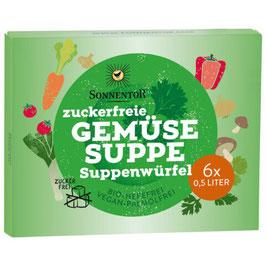 SONNENTOR - Zuckerfreie Gemüsesuppenwürfel 66 g