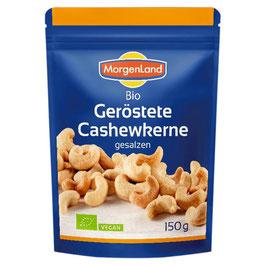 Morgenland - Geröstete Cashewkerne gesalzen 150 g