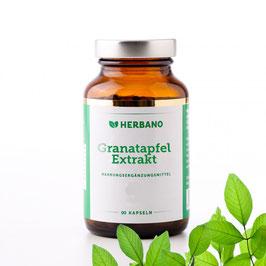 Granatapfel Extrakt Kapseln - HERBANO