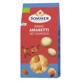 Sommer - Dinkel Amaretti mit Mandeln 125 g