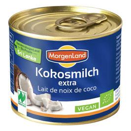 MORGENLAND - Kokosmilch extra 200 ml