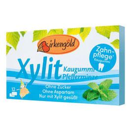 Xylit Kaugummi Pfefferminze 12 Stk
