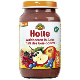 Waldbeeren in Apfel 8M+ 220 g - HOLLE