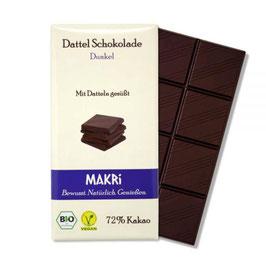 Makri Dunkel 72% Kakao